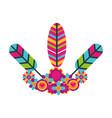 retro hippie style vector image