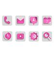 Set-de-iconos vector image