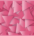 the red colored abstract polygonal geometric vector image