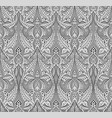 abstract seamless art nouveau pattern vector image vector image