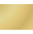 background of corrugated gold vector image vector image