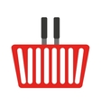 basket shopping isolated icon vector image