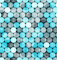 blue circles grunge seamless vector image vector image