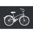 hand drawn doodle bicycle White vector image