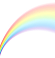 rainbow isolated vector image vector image