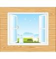 Window in room vector image vector image