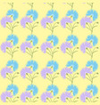 blue flower cornflower isolated on white vector image vector image