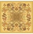 Design for square pocket shawl textile scarf vector image vector image
