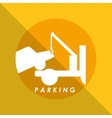 dont parking vector image vector image