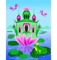 house of frog princess vector image