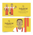 house painters banners vector image vector image
