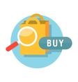 Sale Badge Buy vector image