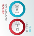 tower of the wi fi vector image