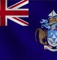 Tristan Da Cunha flag vector image