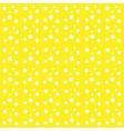 yellow background white drops balls circles vector image