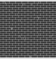 old brick wall seamless pattern vector image