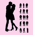 Couple Silhouettes vector image