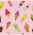 ice cream collection 7 vector image vector image