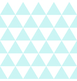Blue White Triangle Background vector image