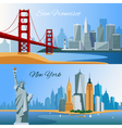 1608i123011Sm004c11USA flat composition vector image vector image