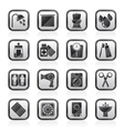 Bathroom and Personal Care icons vector image vector image