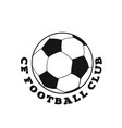 cf football club football background image vector image vector image