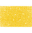 gold glitter texture background vector image