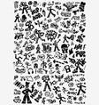 rap music hip hop culture - symbols vector image vector image