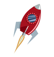 Rocket vector image vector image