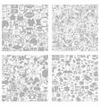 Scientific background4 vector image vector image