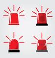 siren icon in trendy flat style vector image