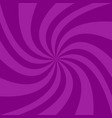 spiral background from purple curved rays vector image vector image