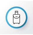 travel bag icon symbol premium quality isolated vector image