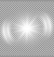 bright star blast vector image vector image