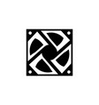 computer fan icon glyph or solid style vector image vector image