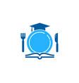 education food logo icon design vector image