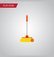 isolated sweep flat icon cleaner element vector image vector image