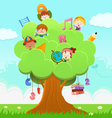 Learning Tree vector image vector image