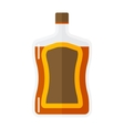 Whiskey bottle icon vector image vector image