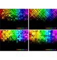 abstract luminosity backgrounds vector image vector image