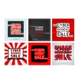 Cyber monday template vector image vector image