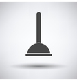 Plunger icon vector image vector image