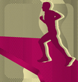 Sport background running vector | Price: 1 Credit (USD $1)