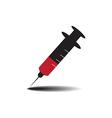syringe drug vector image vector image