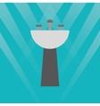 Bathroom sinks design vector image
