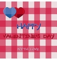 Bright 2015 Valentine s day card Hipster design vector image vector image