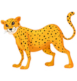 Cartoon Cheetah vector image