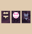catalog underwear store variety womans sets vector image vector image