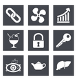 Icons for Web Design set 20 vector image