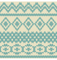 Knitted seamless pattern in ethnic style vector image